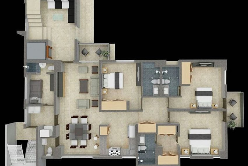 Residencial R&G Deluxe - tipo 1
