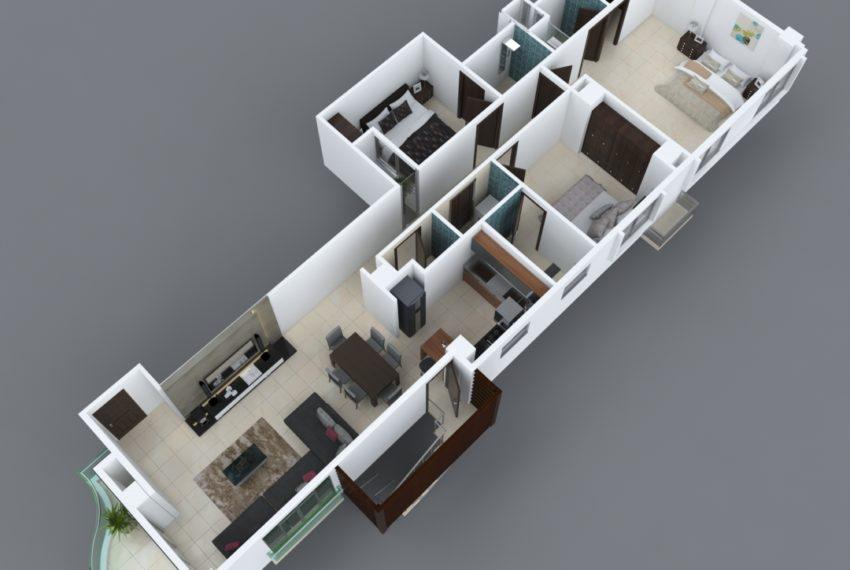 Torre Nikisy - apartamento tipo a y d