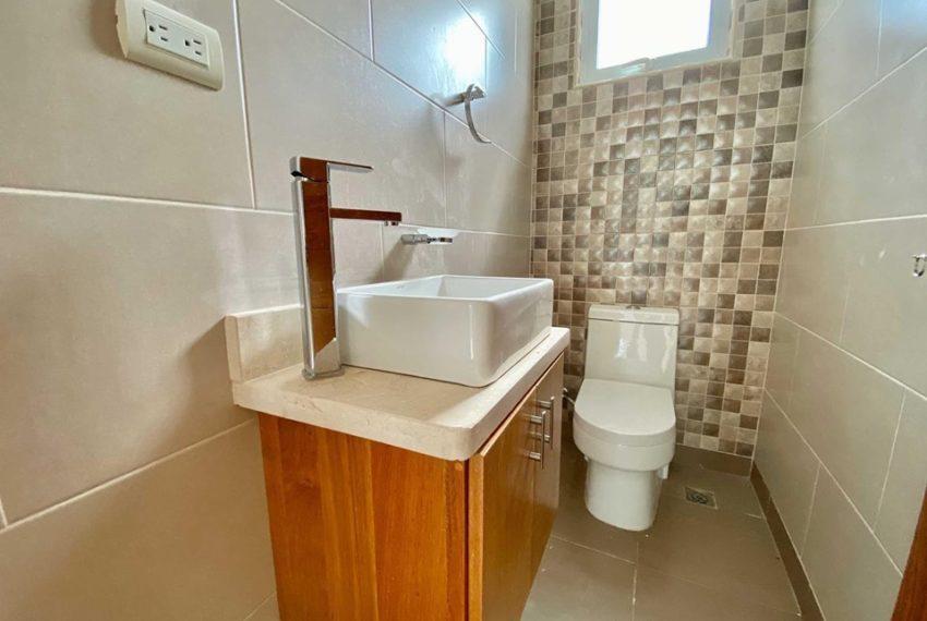 Residencial en villa - Medio Baño