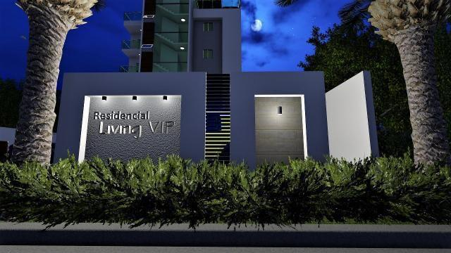 Residencial Living VIP - Entreda vista nocturna