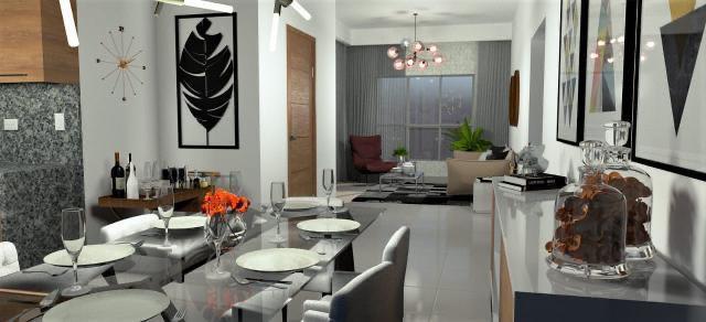 Residencial Living VIP - Sala comedor