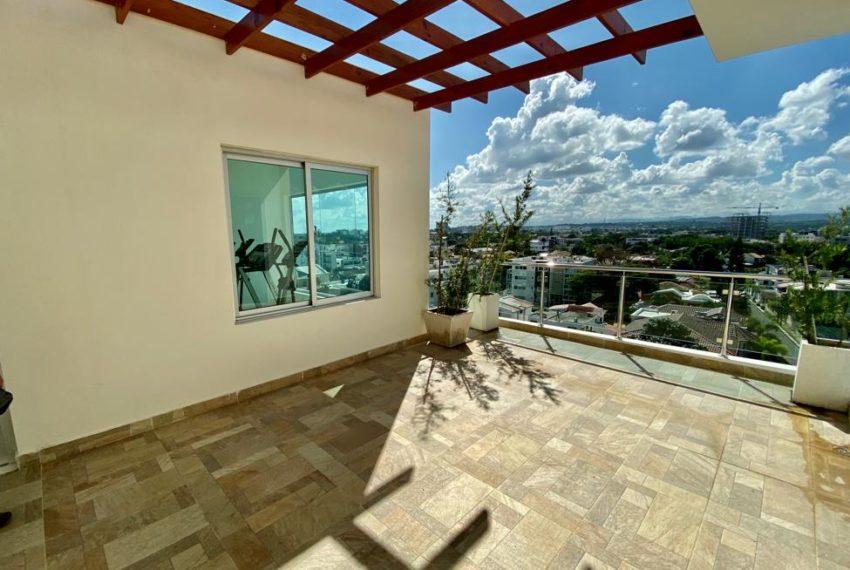 Residencial Via Nova - terraza vista 2