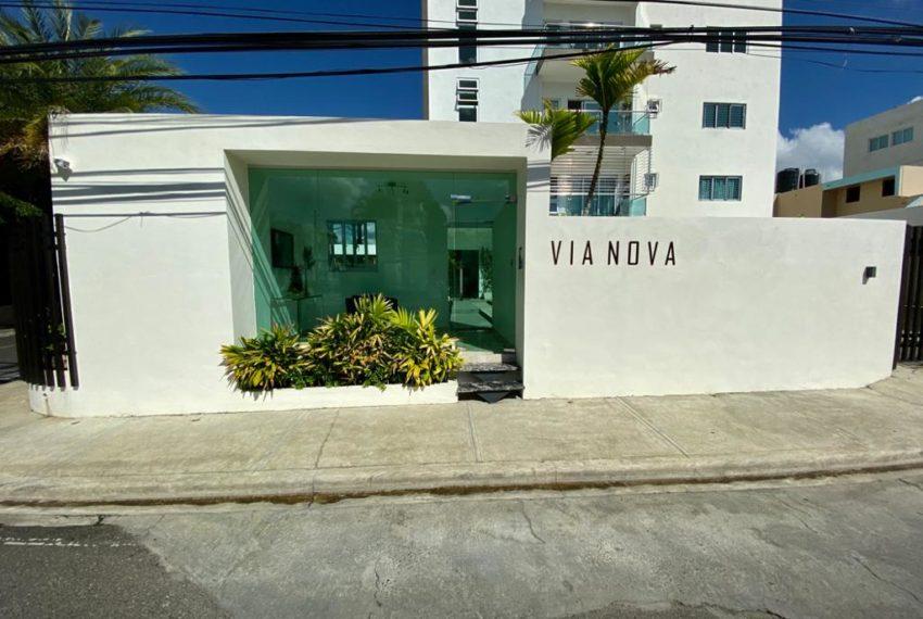 Residencial Via Nova - vista entrada